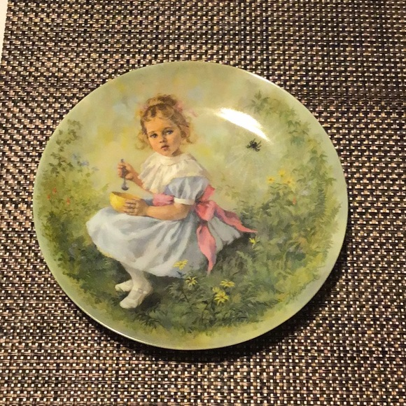 1981 Reco collectors plate Little Miss Muffet